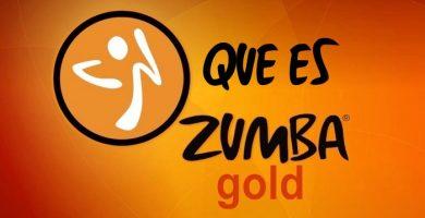 Que es Zumba Gold
