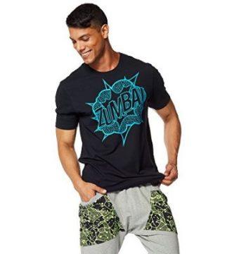 camisetas zumba para hombre
