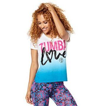 camisetas de Zumba